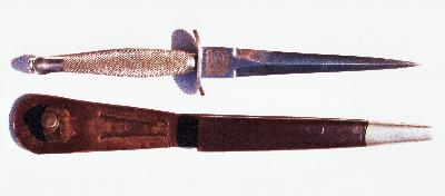 [Thumb - Jim Dix-!st pattern and scabbard inscribed with the initial JD..jpg]