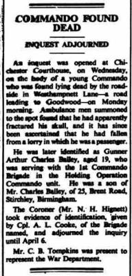 [Thumb - Newspaper report re death of Gnr bailey[23612].jpg]